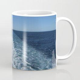 SEA BLUE WAKE AND HORIZON - Pacific Ocean Coffee Mug