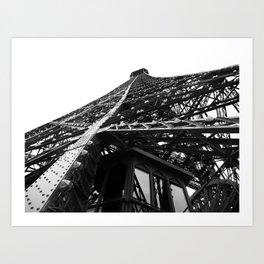Eiffel Tilt Art Print
