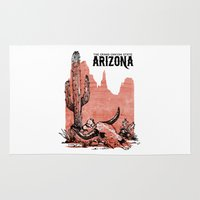 arizona Area & Throw Rugs featuring Arizona by Krikoui