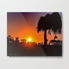 Saturday In The Park ( La Jolla Cove) Metal Print