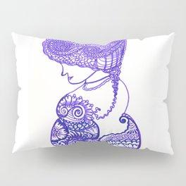 55. Romance Henna Lady in Purple Pillow Sham