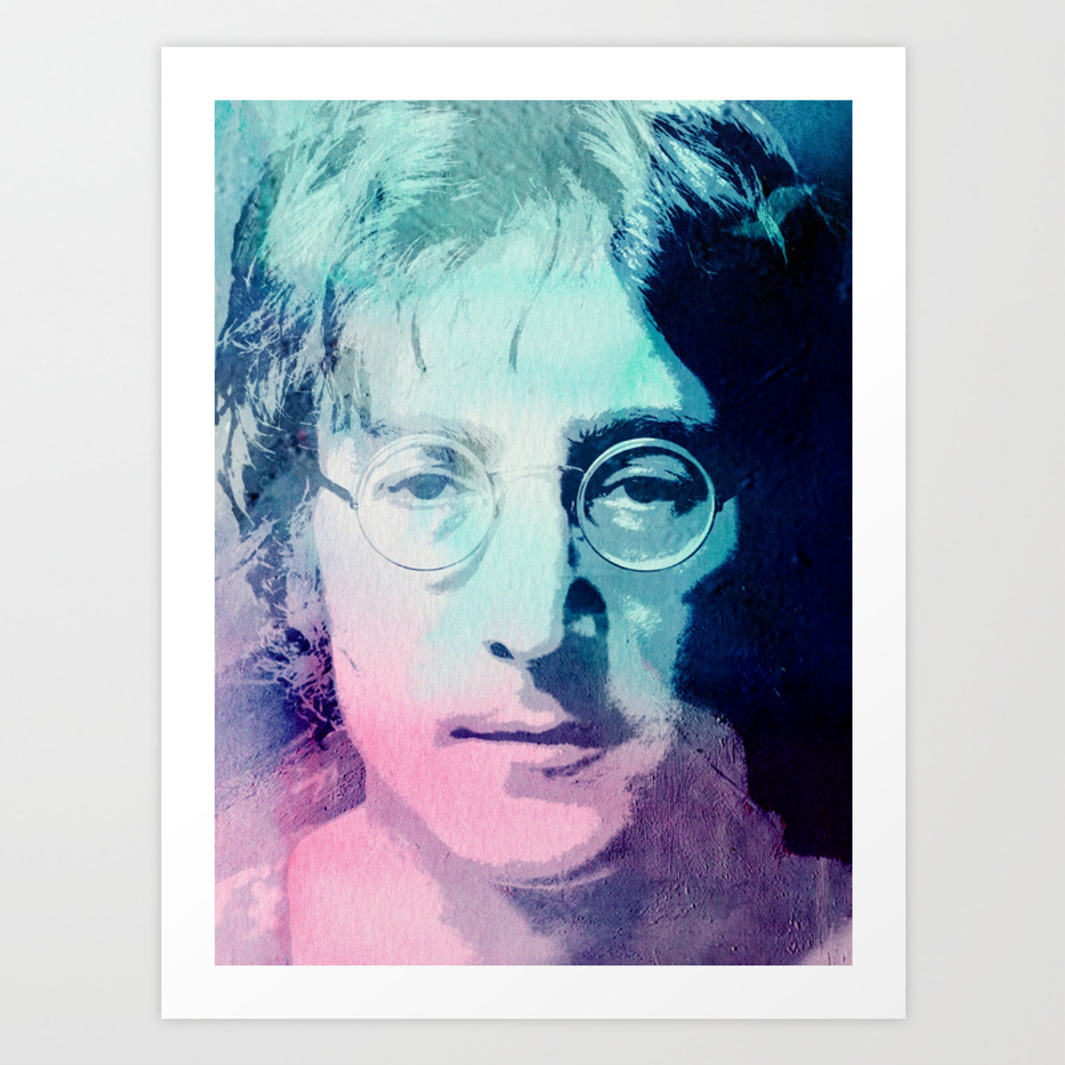 John Lennon Art Print By Dada22 Society6