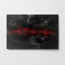 Supernatural darkness Metal Print