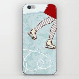 Ice Skating iPhone Skin