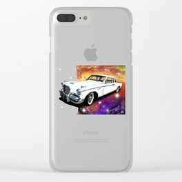 Celestial Studebaker Clear iPhone Case