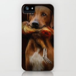 Hunter's Dog iPhone Case