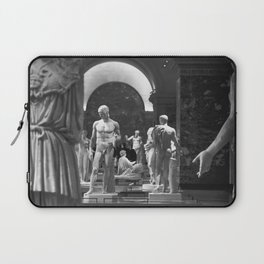 History of the World Through Renaissance Statues black and white photograph / black and white art photography Laptop Sleeve
