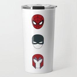 Superhero Masks 3 Travel Mug