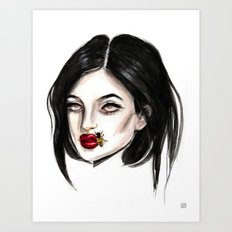 Kylie jenner Art Print