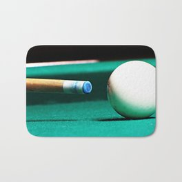 Pool Table-Green Bath Mat
