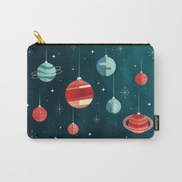 Joy to the Universe (in Teal) Carry-All Pouch