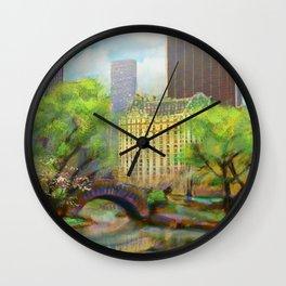 Gapstow Bridge Wall Clock