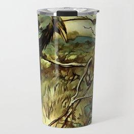 The Two Crows Travel Mug