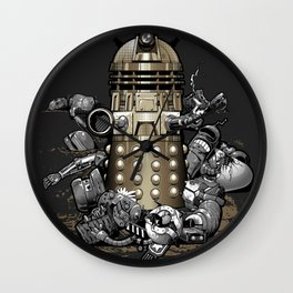Exterminated! Wall Clock