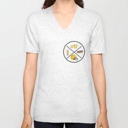 Green Bay | Rogers Fan | Cheese Head Love T Shirt Unisex V-Neck