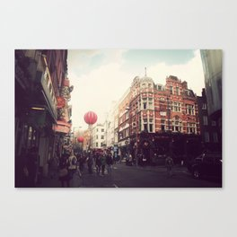 Chinatown , London. Canvas Print
