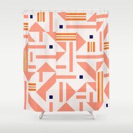 Random Tiles #society6 #pattern Shower Curtain