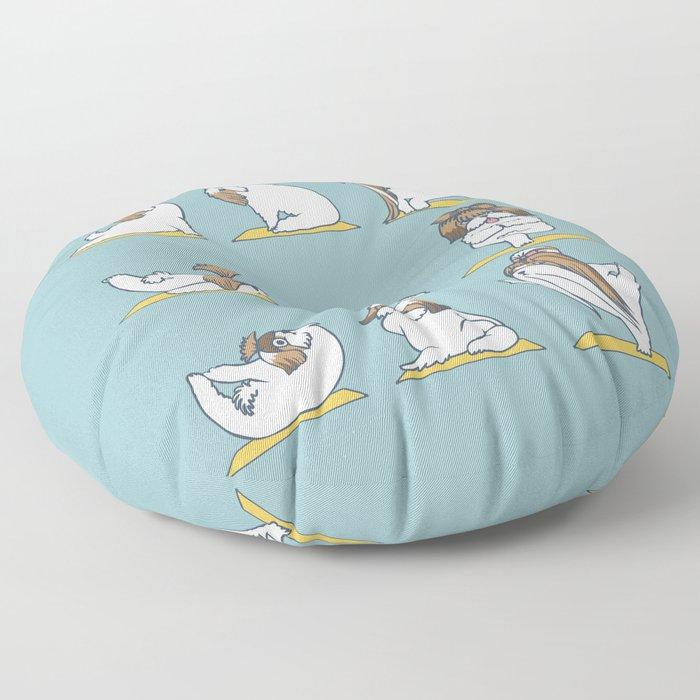 Shih Tzu Yoga Floor Pillow