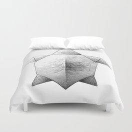 Turtle Origami Duvet Cover