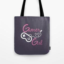 Gamer at Heart Girl Tote Bag