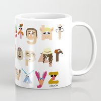 muppet Mugs featuring The Great Muppet Alphabet (the sequel) by Mike Boon