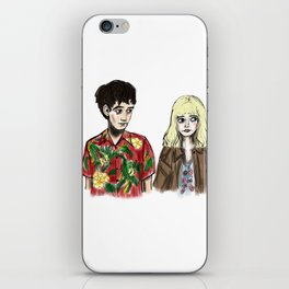 James & Alyssa iPhone Skin