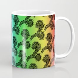 Joshua Tree Matrix by CREYES Coffee Mug