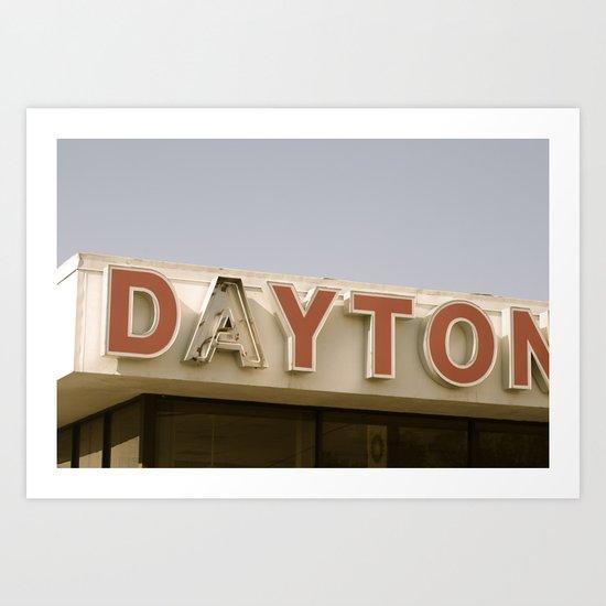 Daytona Art Print
