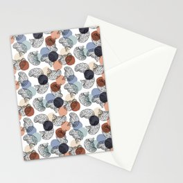 Vintage Brains on White Stationery Cards