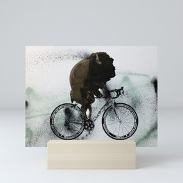 BUFF RIDER Mini Art Print