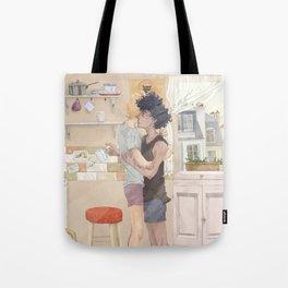 Kitchen Morning Tote Bag