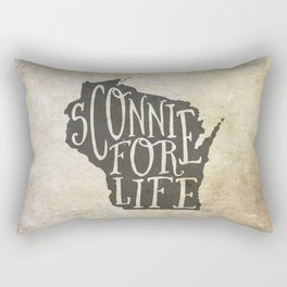 Sconnie for Life Rectangular Pillow