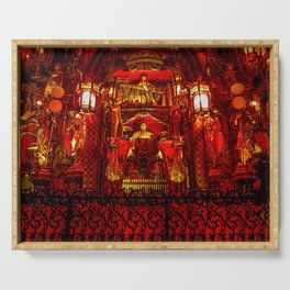 The Red Room of Emperor Huángsè Serving Tray