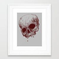 mortal instruments Framed Art Prints featuring mortal coil by Isaboa