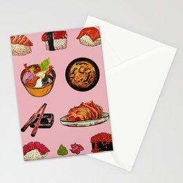 Sushi Life Stationery Cards