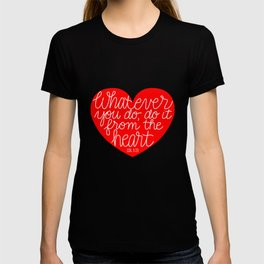 From the Heart T-shirt
