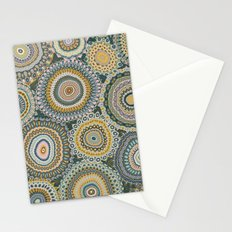 Boho Patchwork-Mineral Colors Stationery Cards