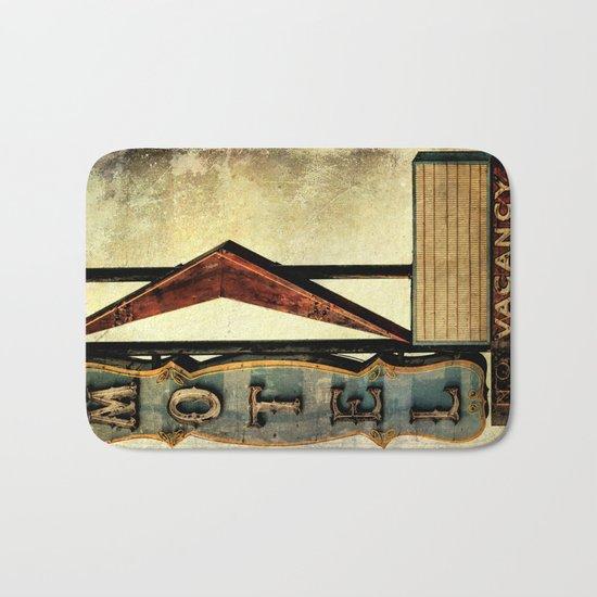 Vintage Arrow Motel Sign Bath Mat