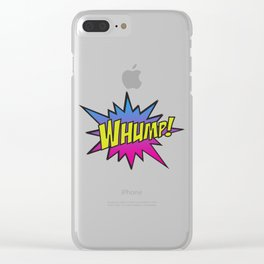 Whump! Clear iPhone Case