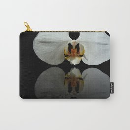 White Reflection Carry-All Pouch
