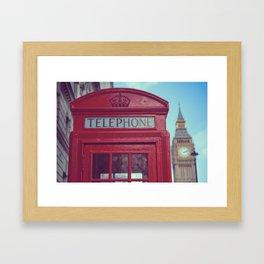Telephone Framed Art Print