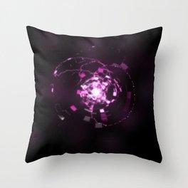 Electronic Sparkle Throw Pillow
