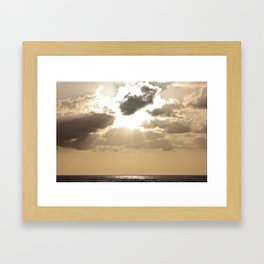 Rays of Sunshine Framed Art Print