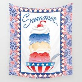 Summer Sundae Wall Tapestry