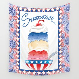 Summer Sundae Wall Tapestry