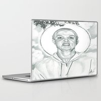 britney Laptop & iPad Skins featuring Holy Britney by Jimmy Lee