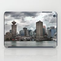vancouver iPad Cases featuring Vancouver Harbour by Anthony M. Davis