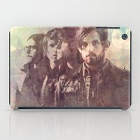 leon iPad Cases featuring kings of leon by Nechifor Ionut