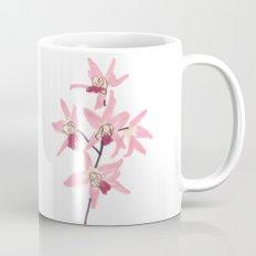 Pink Orchid Flower Coffee Mug
