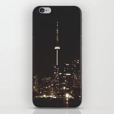 night lights iPhone & iPod Skin